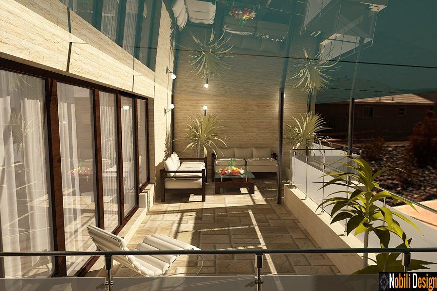 Amenajare-  terasa - apartament - 3 camere - bucuresti.