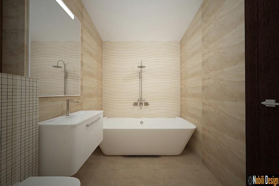 amenajare baie moderna casa constanta.