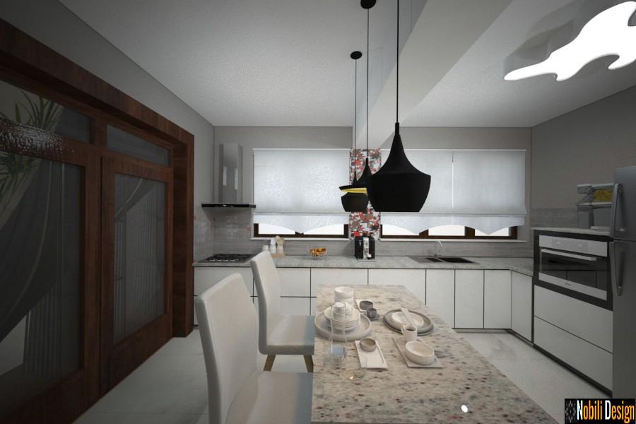 amenajare bucatarie casa moderna constanta 2018 | Amenajari interioare bucatarii moderne.
