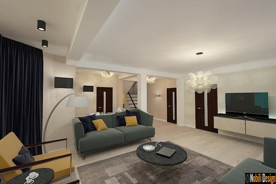 Interior design della moderna casa Constanta.
