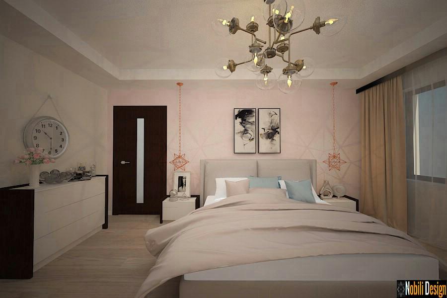 amenajare dormitor casa moderna constanta.