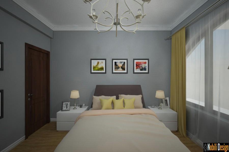 amenajare dormitor casa moderna constanta 2018 | Firme amenajari interioare Constanta.