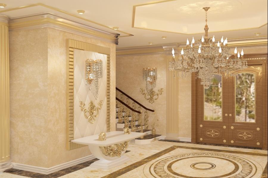 Amenajare - interioara - casa - de lux - constanta| Amenajare - interioara - hol - casa - clasica - in - Constanta.