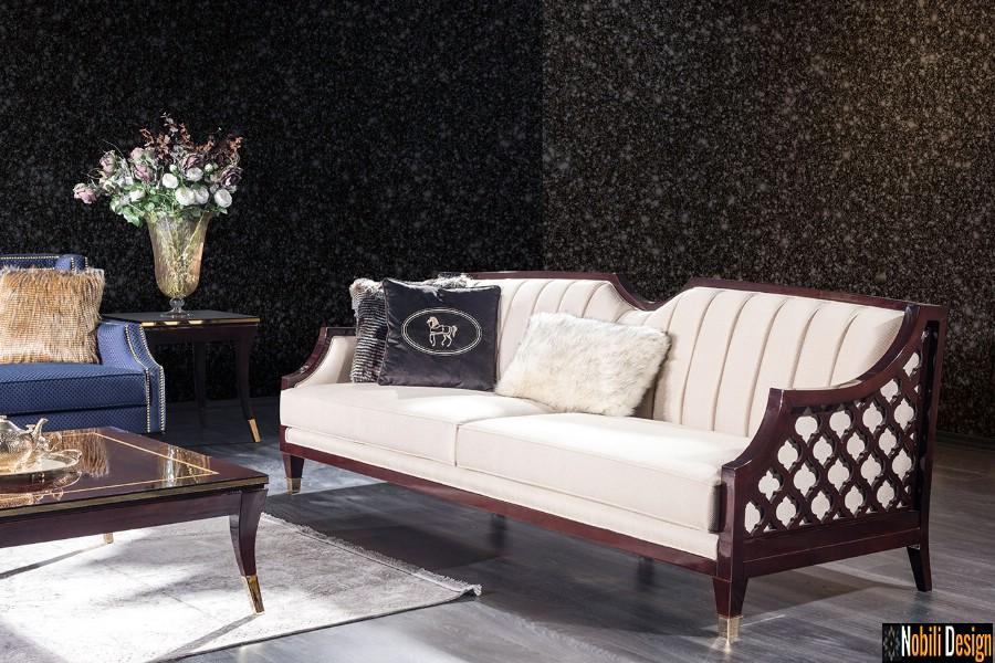 amenajari interioare living cu canapea mobilier de lux pret | Amenajare living casa in Bucuresti.