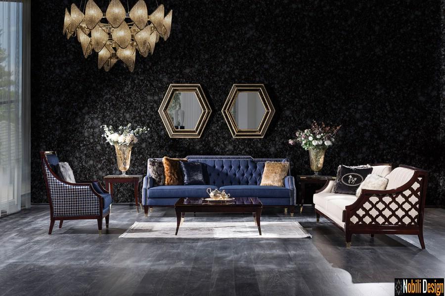 amenajari interioare living cu mobilier de lux pret barcelona | Amenajare living casa Constanta.