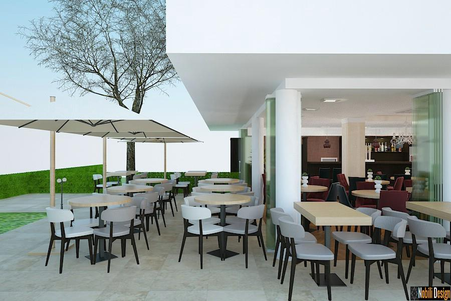 Amenajari - exterioare - terase - restaurant - Poiana - Brasov.