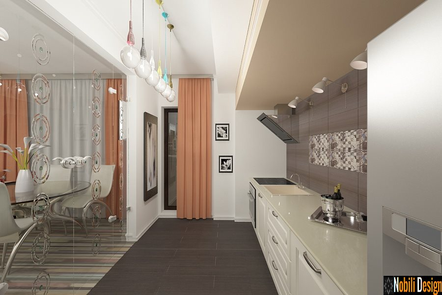 Amenajari interioare bucatarii moderne for Imagini case moderne