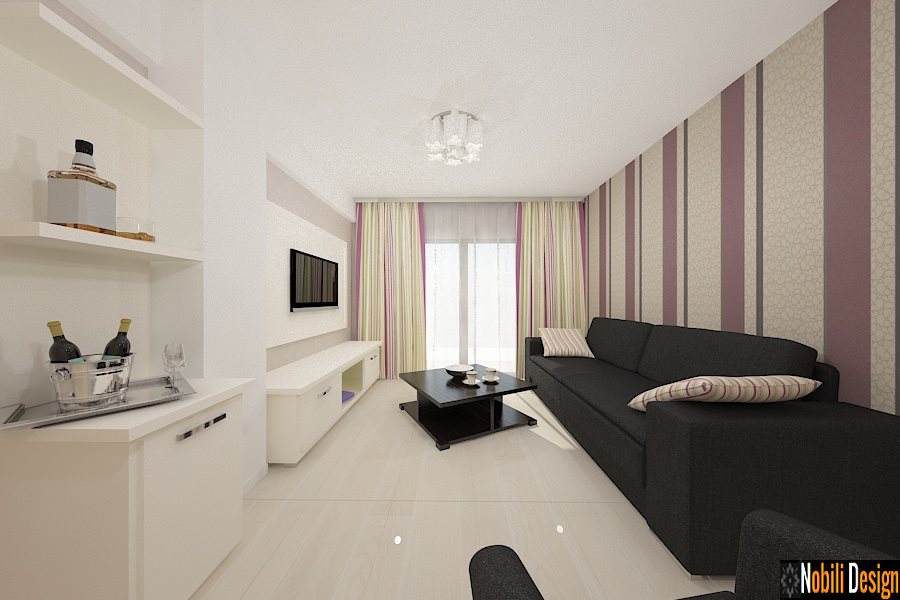 Amenajari - interioare - camere - apartamente - hotel.