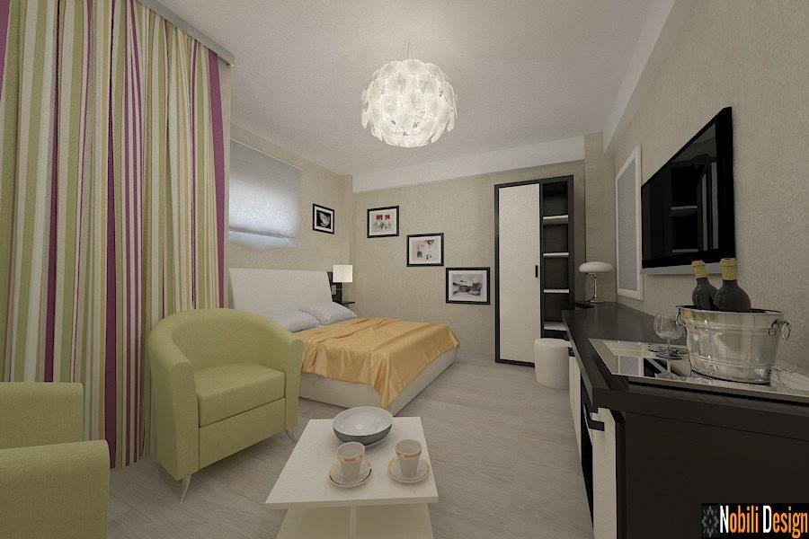 Amenajari - interioare - camere - hotel - Poiana - Brasov.