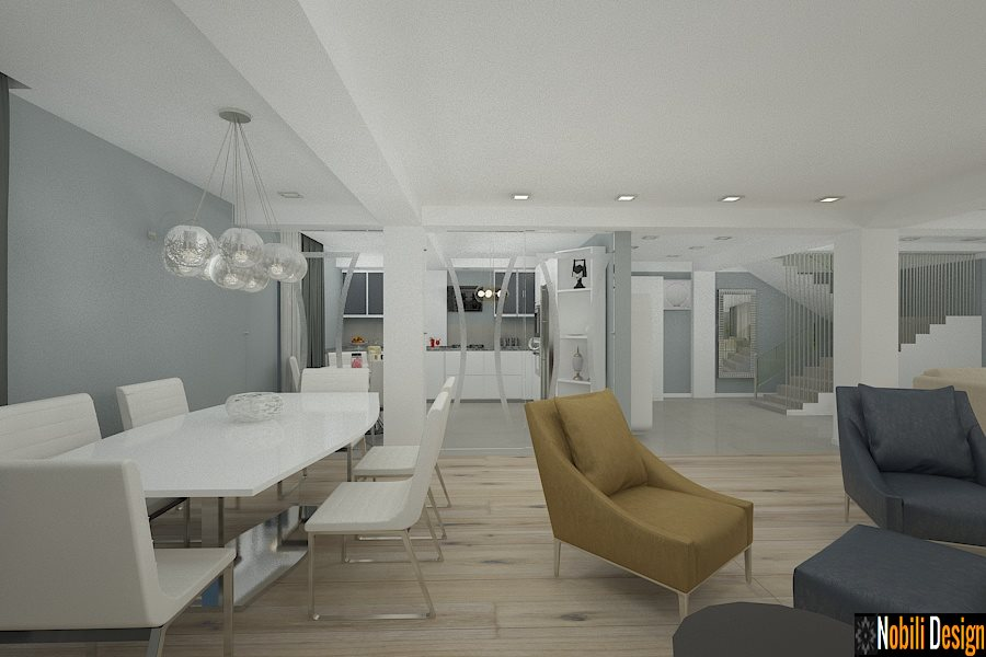 amenajari interioare case open space constanta