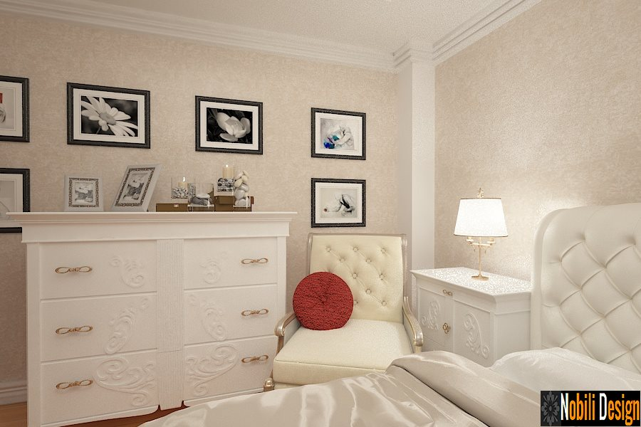 amenajari interioare dormitoare clasice bucuresti