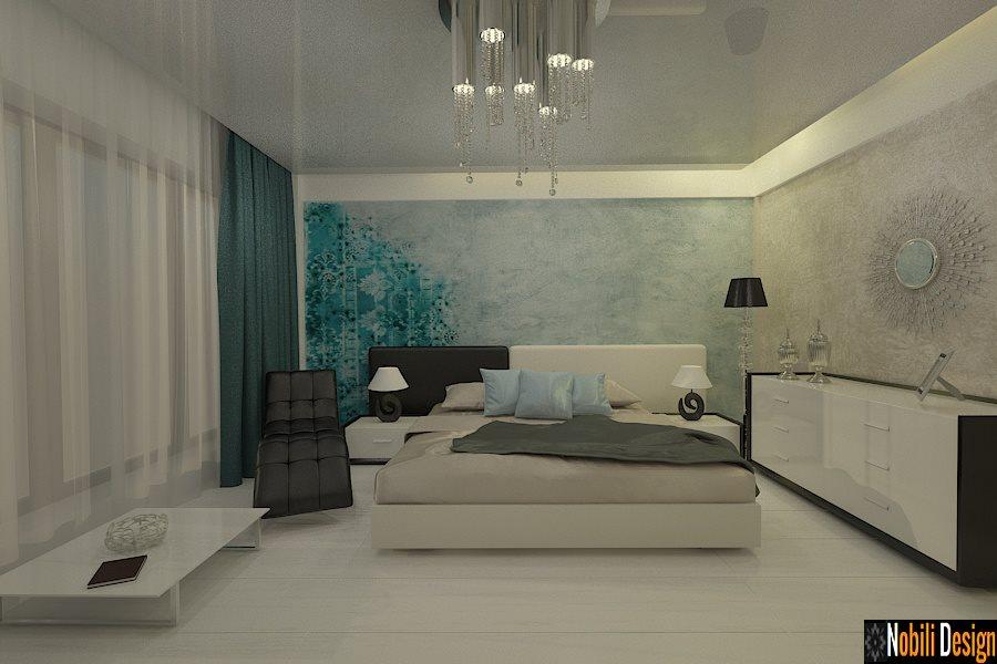 amenajari interioare dormitoare moderne bucuresti