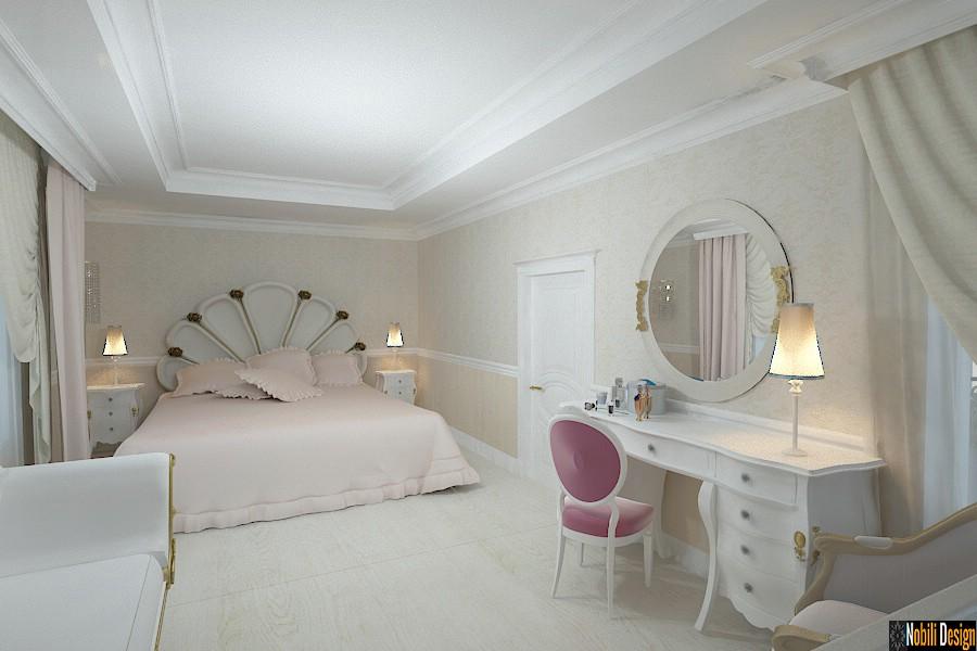 Amenajari - interioare - dormitor - casa de lux - constanta.