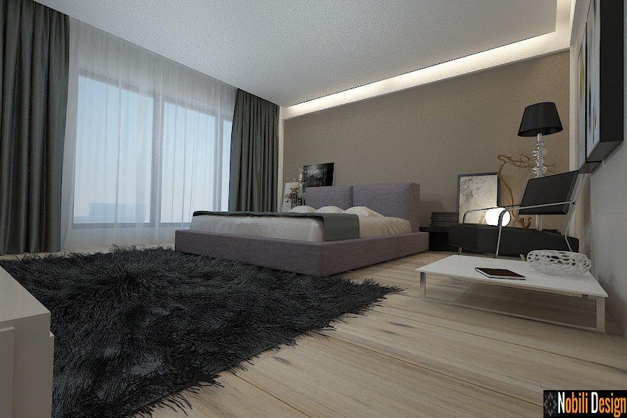 amenajari interioare dormitor casa moderna constanta