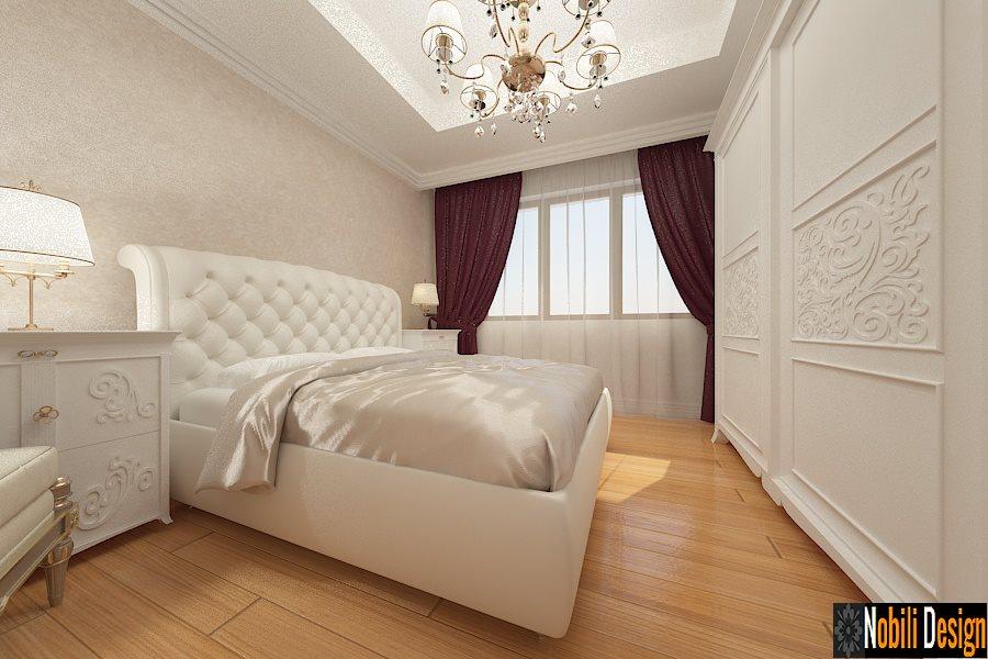 Amenajari - interioare - dormitor - clasic - Brasov.