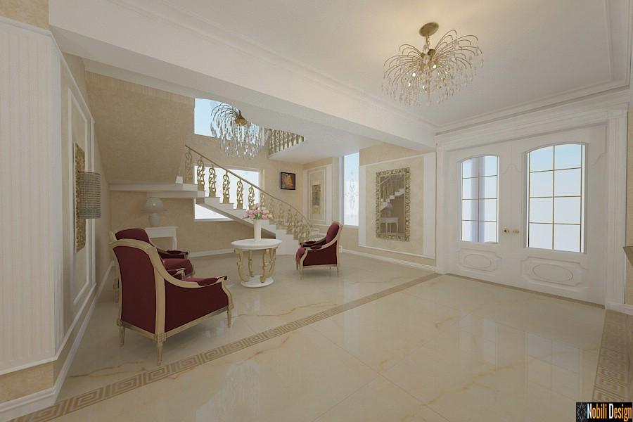 Amenajari interioare hol casa clasica constanta.