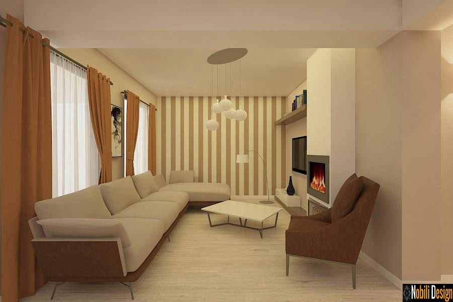Amenajari interioare case vile constanta for Design interior case