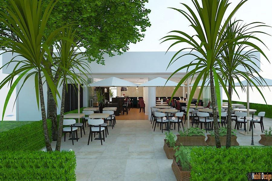 Amenajari - terase - exterioare - restaurant - Bucuresti.