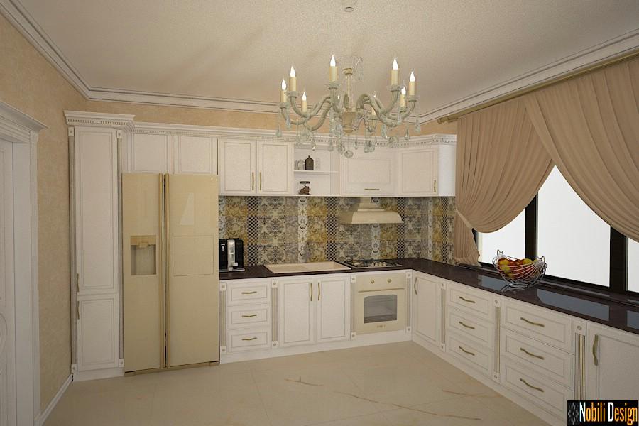 amenajari interioare bucatarie casa clasic pitesti arges