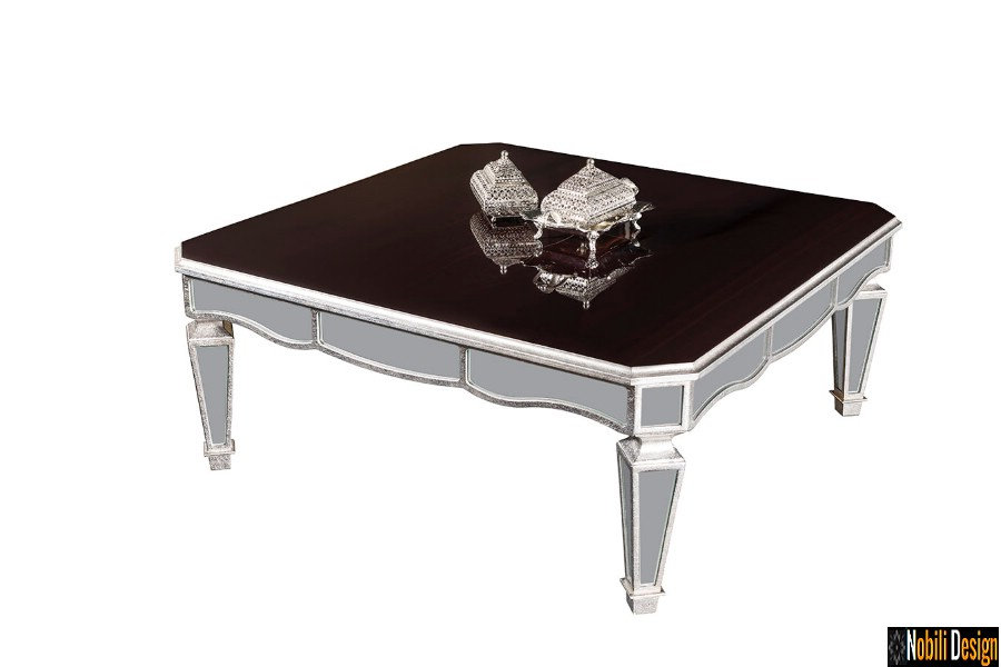 amenajare interioara living clasic cu mobilier de lux preturi | Masa living clasic modern pret.