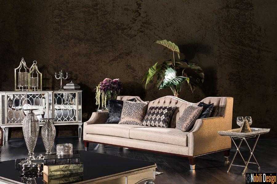 amenajare interioara living clasic modern cu mobilier de lux bucuresti | Amenajari interioare cu mobila clasica.