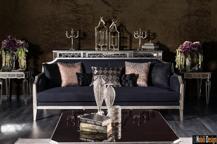 amenajare interioara living cu mobilier de lux pret   Amenajari interioare living cu mobila Brasov.
