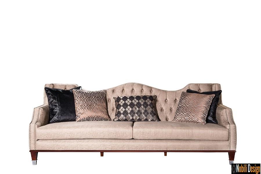 amenajare interioara living modern cu mobilier de lux pret | Canapele living clasic modern preturi.