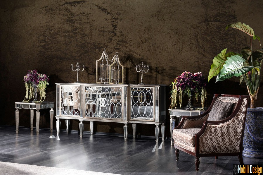 costante di prezzo vivente di arredamento di interior design Design del salotto interno a Constanta.
