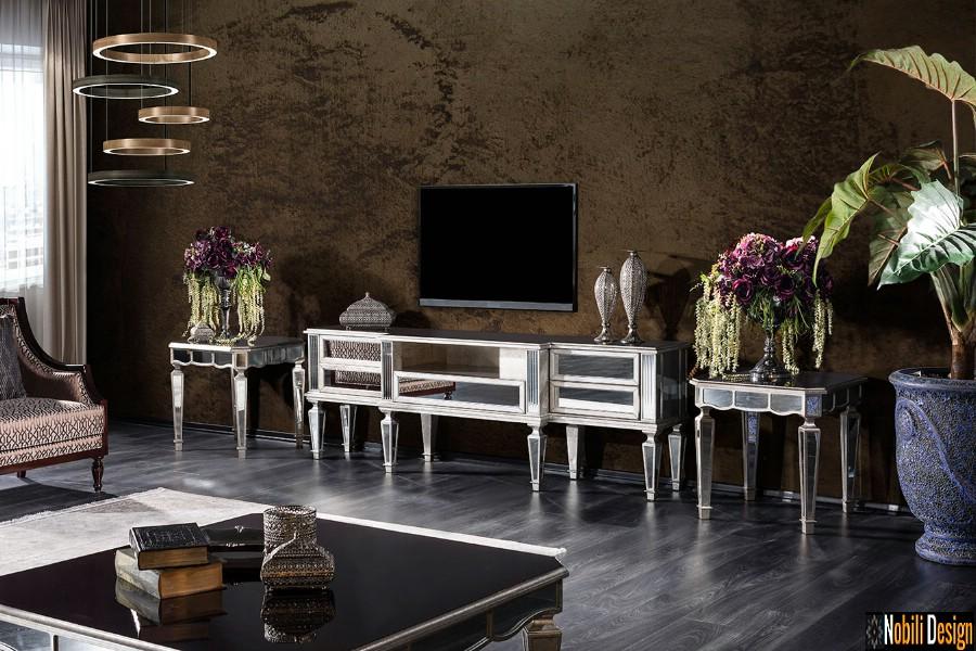 amenajari interioare living clasic modern mobilier de lux preturi | Amenajare living cu mobila clasica pret.