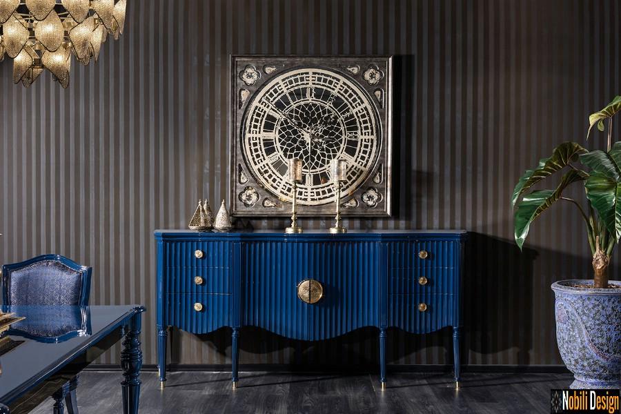iç tasarım modern klasik yemek lüks mobilya ile yemek fiyat | İç tasarım Bükreş fiyatı.