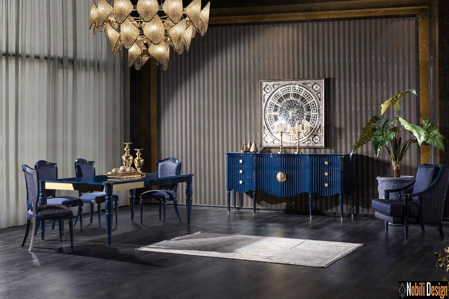 sala da pranzo interna con mobili di lusso bucuresti Mobili da pranzo a Bucarest.