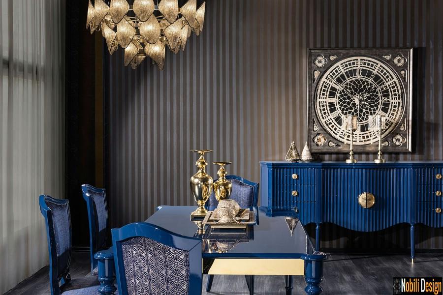 sala da pranzo con mobili classici di lusso prezzo | Interior design a Bucarest.