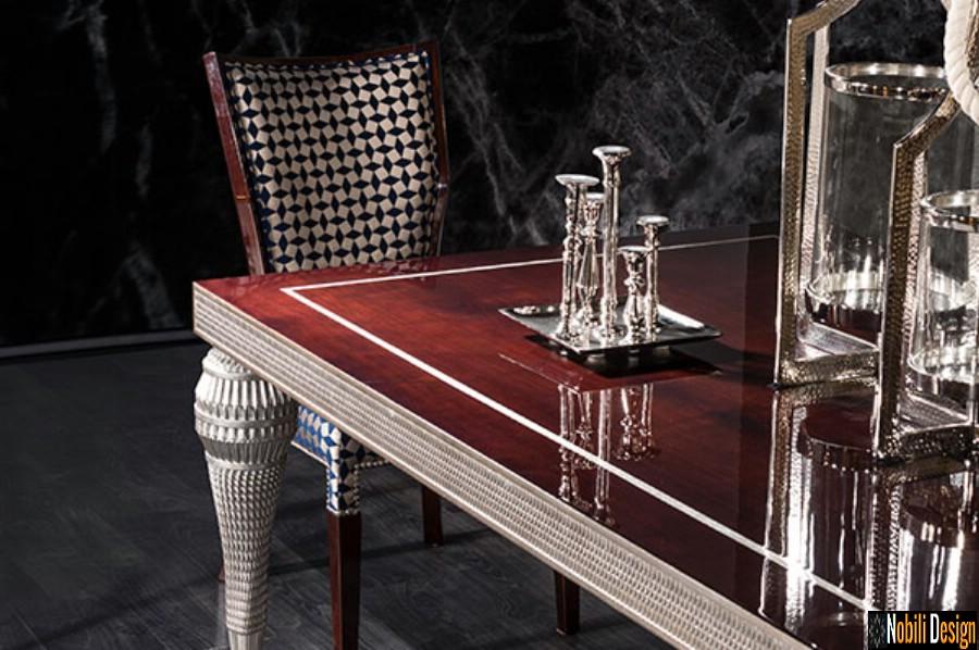 amenajare interioara living clasic modern cu mobilier de lux pret | Amenajare living casa cu mobila in Brasov.