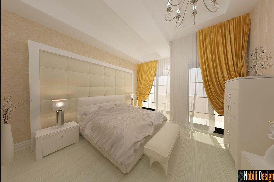 Amenajare interioara dormitor casa de lux