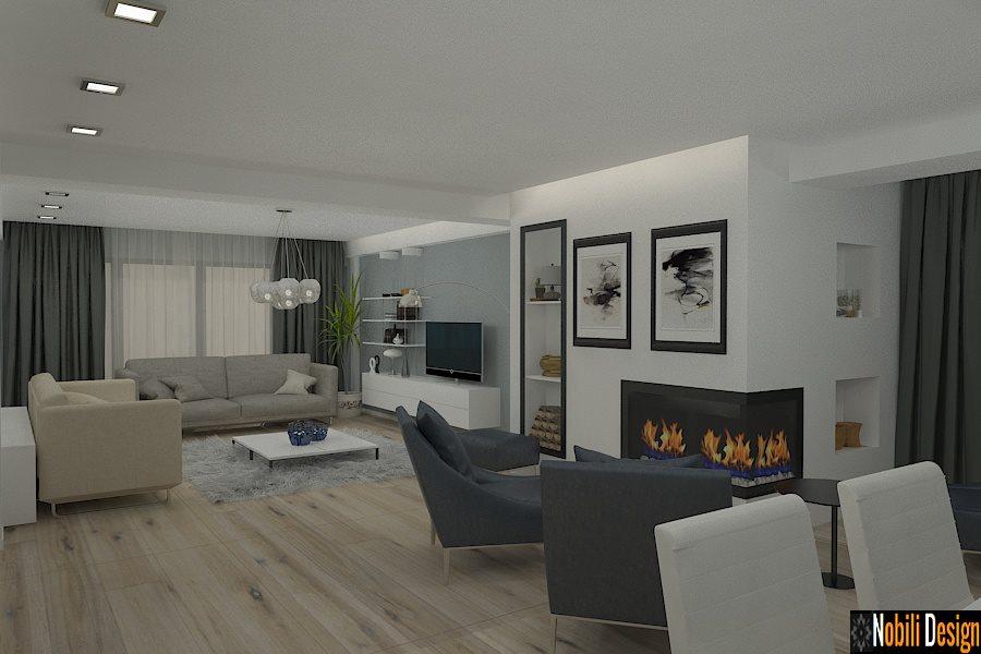 현대 집안의 인테리어 디자인 Constanta