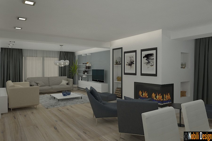 Interiér moderních domů Constanta