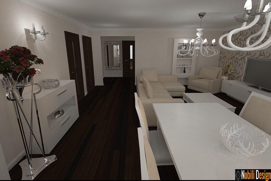 Design interior apartamente stil clasic modern Sibiu