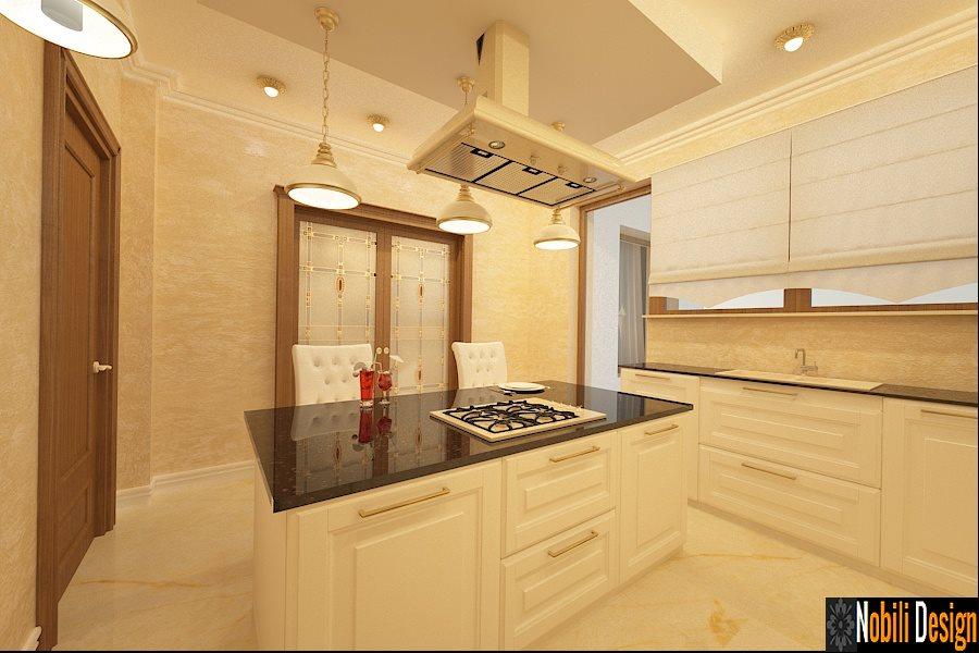 Design - interior - bucatarie- mobila - clasica - Bucuresti,
