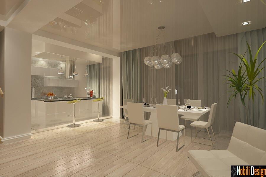 Design interior vile stil modern in Constanta