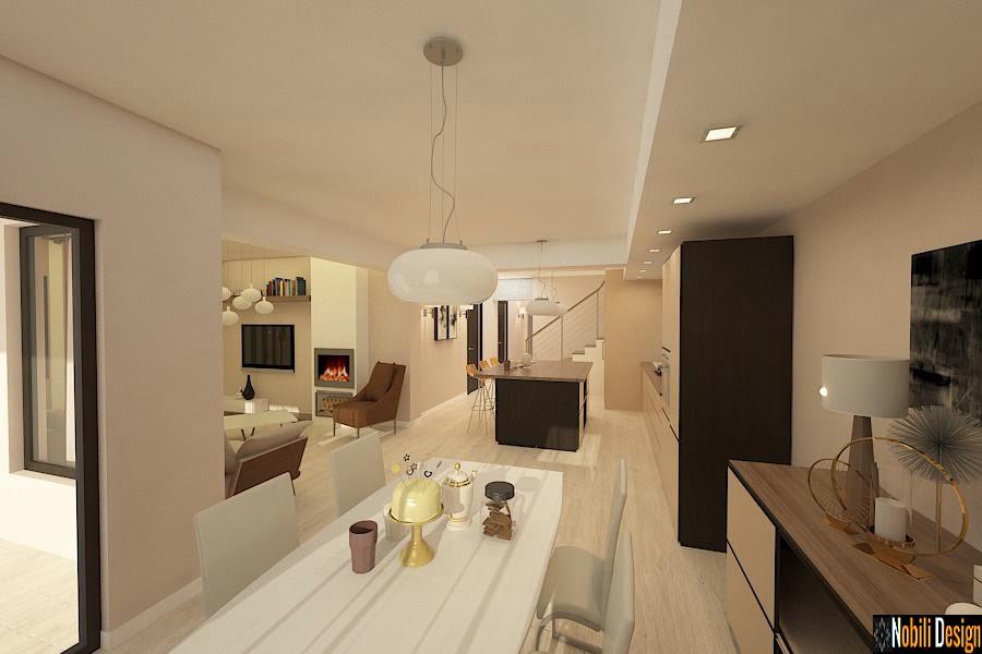 Design interior clasic case apartamente modern for Casa moderna romania