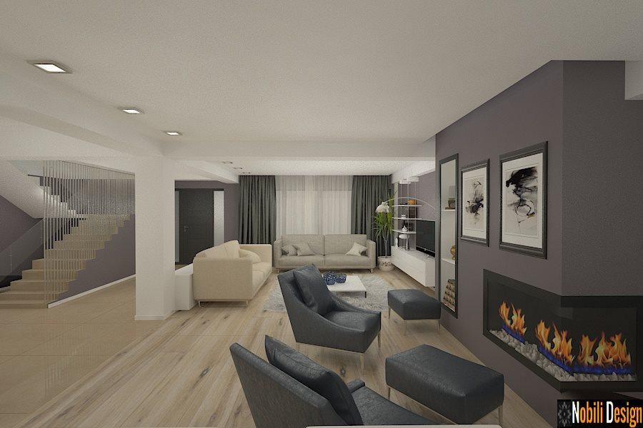 Design interior casa moderna mobila italiana