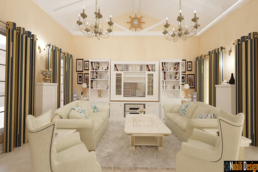 Design interior amenajare stil clasic case Constanta