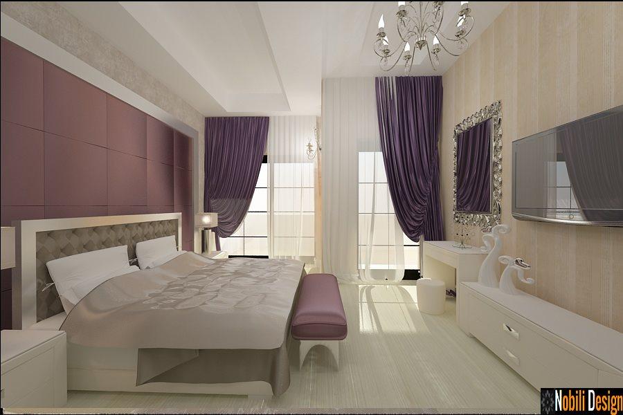 Design interior dormitor casa moderna
