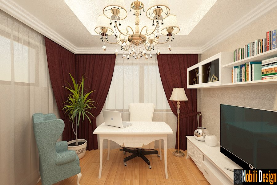 Design - interior - estar - apartamento - 4 - quartos - Bucareste