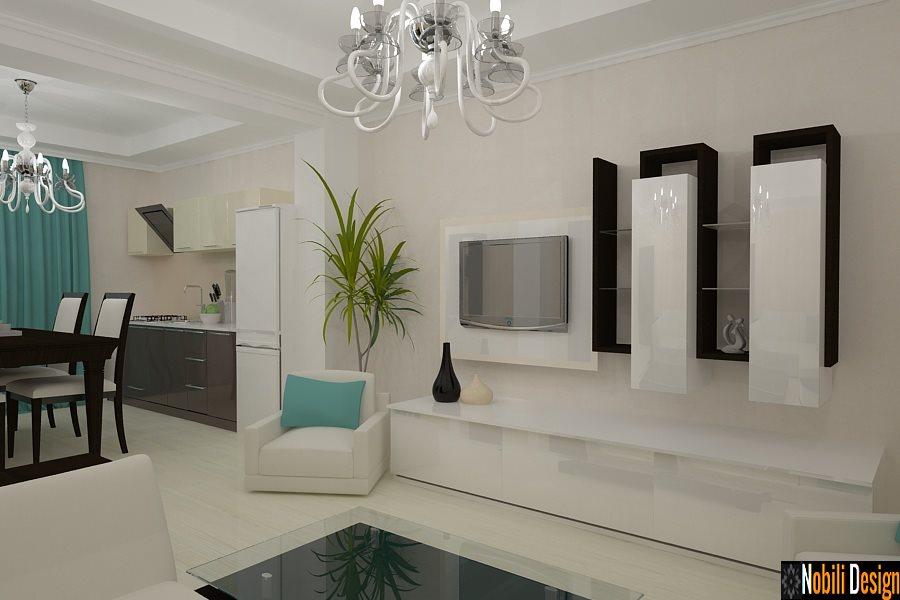 Design interior living dormitor case moderne Constanta