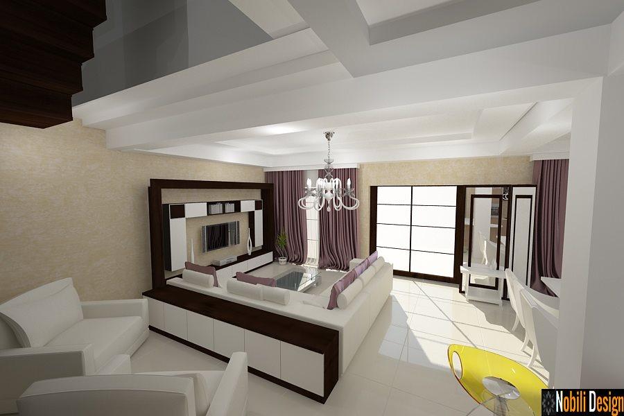 Σχεδιασμός - εσωτερικό - καθιστικό - σπίτι - σύγχρονο - στην - Κωνστάντζα