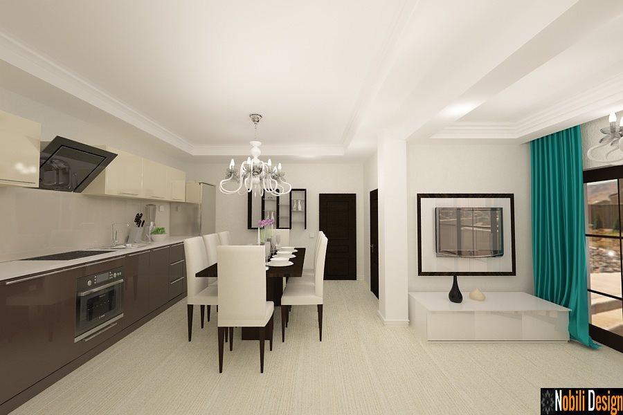 Design interior living cu bucatarie open space