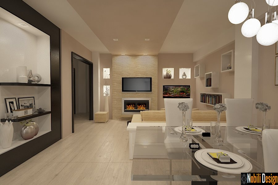 Design -interior - living - modern -apartament - Bucuresti