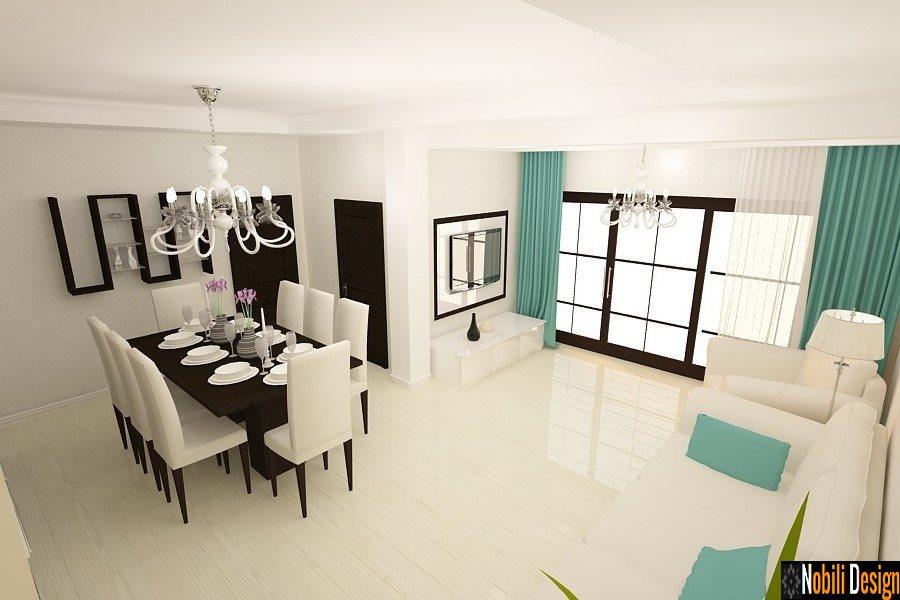 Σχεδιασμός - εσωτερικός - καθιστικό - ανοιχτό - χώρος - σπίτι - Κωνστάντζα