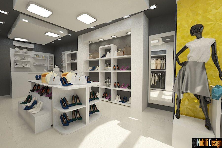 Design de interiores - loja - roupas - Bucareste